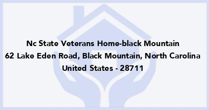 Nc State Veterans Home-Black Mountain