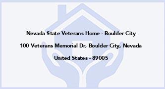 Nevada State Veterans Home - Boulder City