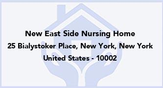 New East Side Nursing Home