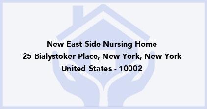 New East Side Nursing Home