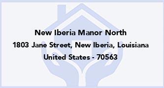 New Iberia Manor North