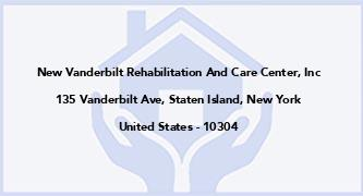 New Vanderbilt Rehabilitation And Care Center, Inc