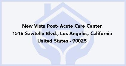 New Vista Post- Acute Care Center