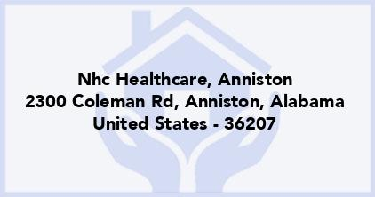 Nhc Healthcare, Anniston