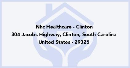 Nhc Healthcare - Clinton