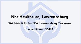 Nhc Healthcare, Lawrenceburg