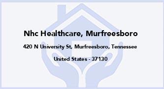 Nhc Healthcare, Murfreesboro