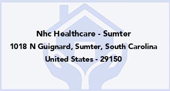 Nhc Healthcare - Sumter
