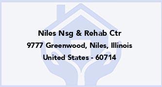 Niles Nsg & Rehab Ctr