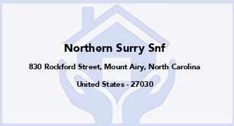 Northern Surry Snf