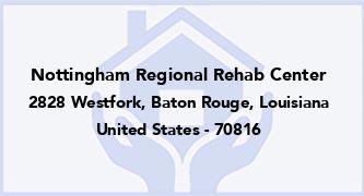 Nottingham Regional Rehab Center