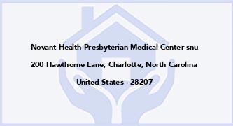 Novant Health Presbyterian Medical Center-Snu