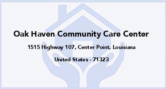 Oak Haven Community Care Center