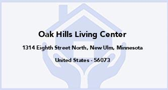 Oak Hills Living Center