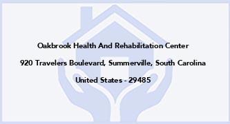 Oakbrook Health And Rehabilitation Center