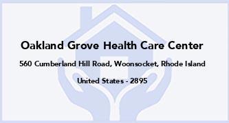 Oakland Grove Health Care Center