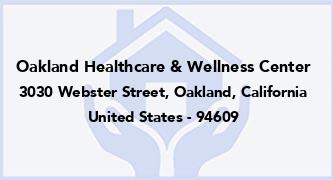 Oakland Healthcare & Wellness Center