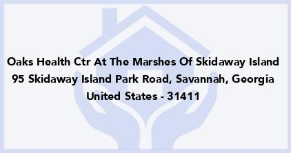 Oaks Health Ctr At The Marshes Of Skidaway Island