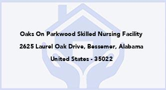 Oaks On Parkwood Skilled Nursing Facility