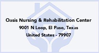 Oasis Nursing & Rehabilitation Center