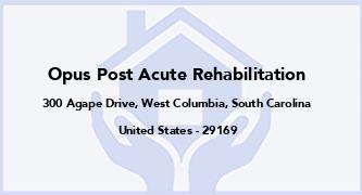 Opus Post Acute Rehabilitation