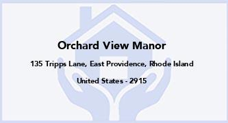 Orchard View Manor