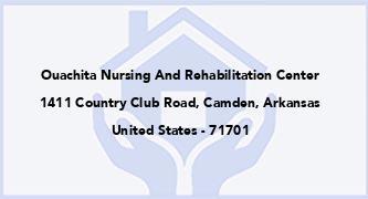 Ouachita Nursing And Rehabilitation Center