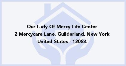 Our Lady Of Mercy Life Center