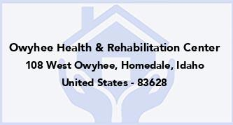 Owyhee Health & Rehabilitation Center
