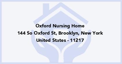 Oxford Nursing Home