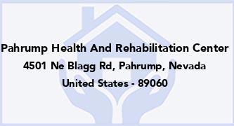 Pahrump Health And Rehabilitation Center