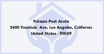 Palazzo Post Acute