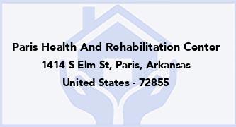 Paris Health And Rehabilitation Center