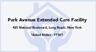 Park Avenue Extended Care Facility