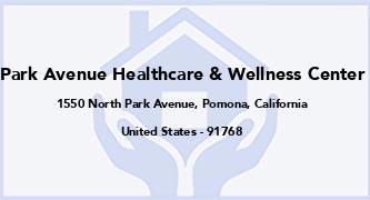 Park Avenue Healthcare & Wellness Center