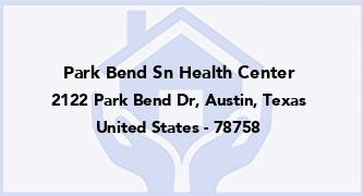 Park Bend Sn Health Center