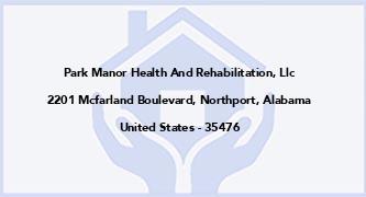 Park Manor Health And Rehabilitation, Llc