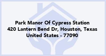 Park Manor Of Cypress Station