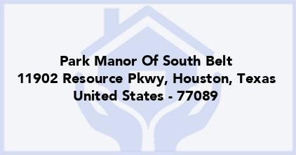 Park Manor Of South Belt