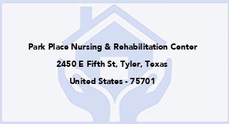 Park Place Nursing & Rehabilitation Center