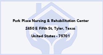Park Place Nursing & Rehabilitation Center