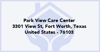 Park View Care Center