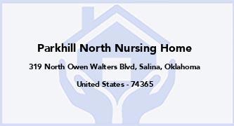 Parkhill North Nursing Home