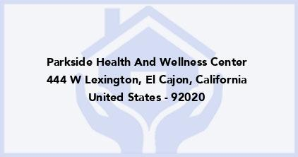 Parkside Health And Wellness Center