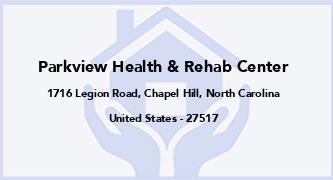 Parkview Health & Rehab Center