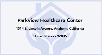 Parkview Healthcare Center