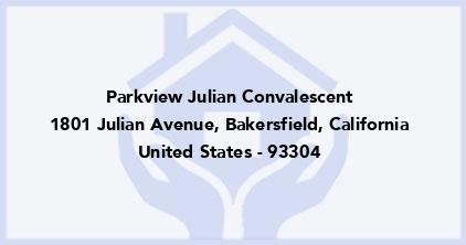 Parkview Julian Convalescent