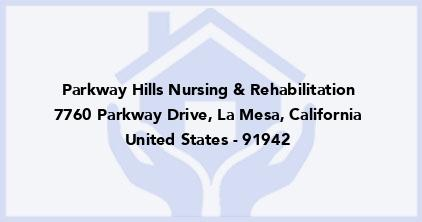 Parkway Hills Nursing & Rehabilitation