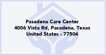 Pasadena Care Center