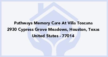 Pathways Memory Care At Villa Toscana